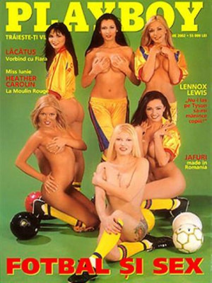 Playboy Romania - June 2002