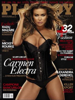 Playboy Romania - April 2009