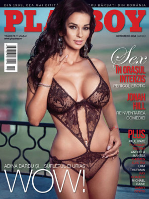 Playboy Romania - Oct 2014
