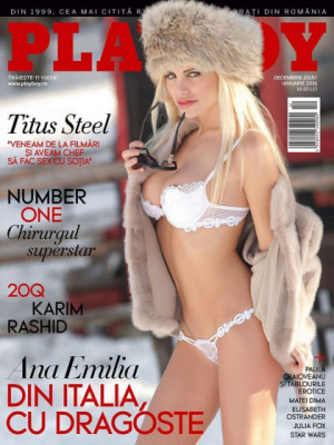 Playboy Romania - Dec 2015
