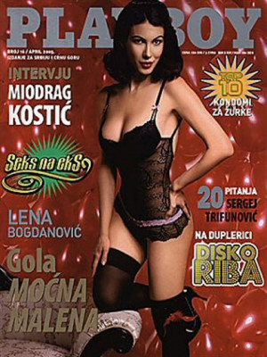 Playboy Serbia - April 2005