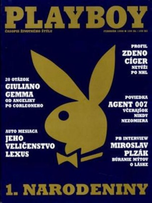 Playboy Slovakia - Feb 1998