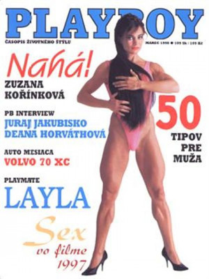 Playboy Slovakia - Mar 1998