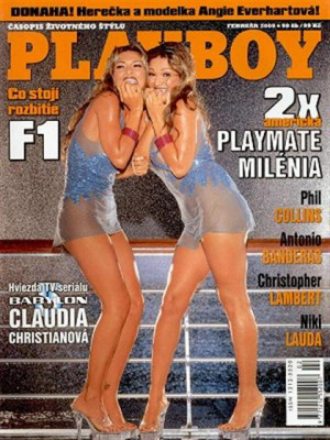 Playboy Slovakia - Feb 2000