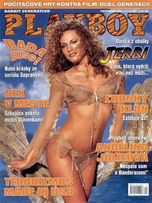 Playboy Slovakia - Oct 2001