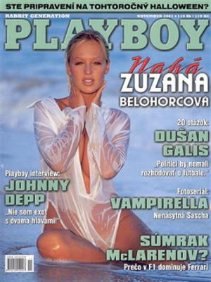 Playboy Slovakia - Nov 2001