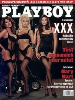 Playboy Slovakia - Apr 2002