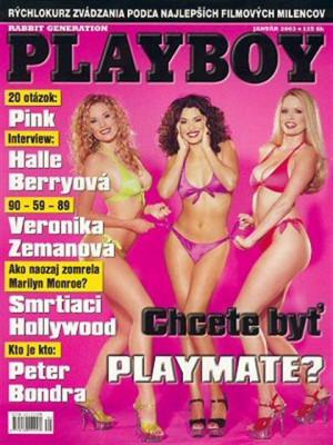 Playboy Slovakia - Jan 2003
