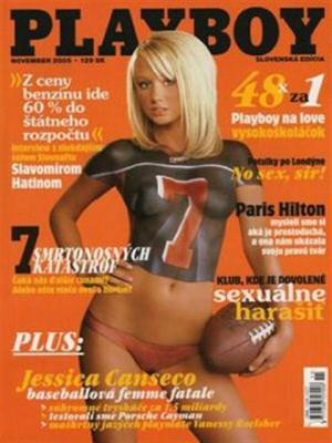 Playboy Slovakia - Nov 2005