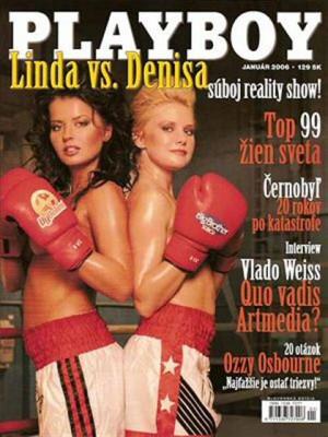 Playboy Slovakia - Jan 2006