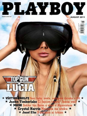 Playboy Slovakia - Aug 2011