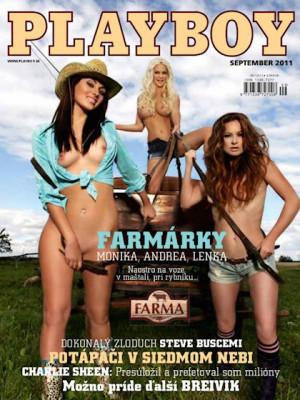 Playboy Slovakia - Sep 2011