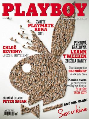 Playboy Slovakia - Jan 2012