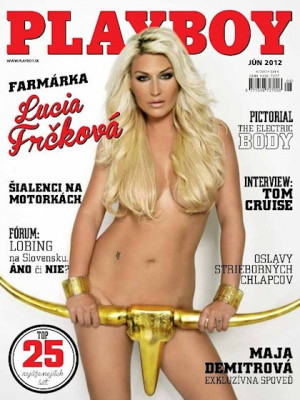 Playboy Slovakia - June 2012