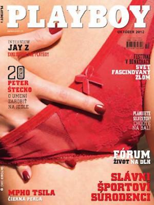 Playboy Slovakia - Oct 2012