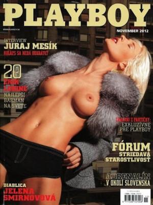 Playboy Slovakia - Nov 2012