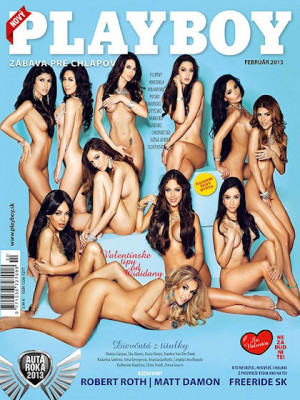 Playboy Slovakia - Feb 2013