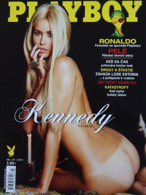 Playboy Slovakia - July 2014