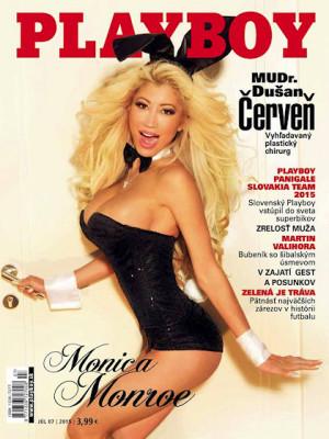 Playboy Slovakia - July 2015