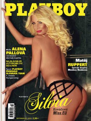 Playboy Slovakia - Sep 2015