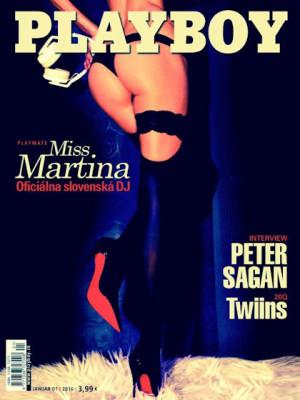 Playboy Slovakia - Jan 2016