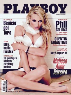 Playboy Slovakia - Feb 2016