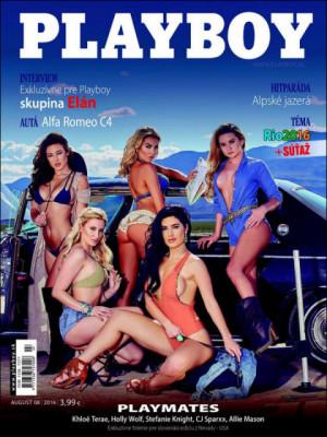 Playboy Slovakia - Aug 2016