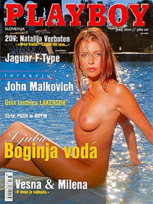 Playboy Slovenia - July 2001