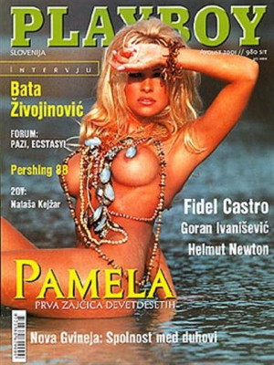 Playboy Slovenia - Aug 2001