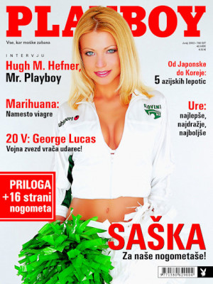 Playboy Slovenia - June 2002