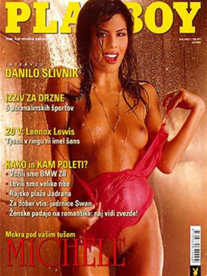 Playboy Slovenia - July 2002