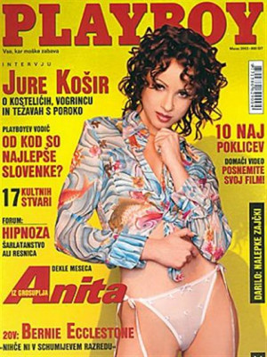Playboy Slovenia - Mar 2003