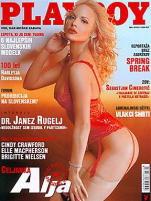 Playboy Slovenia - May 2003
