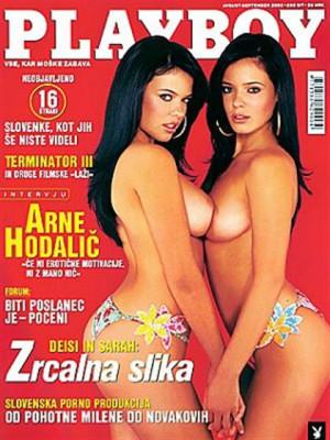 Playboy Slovenia - Aug 2003