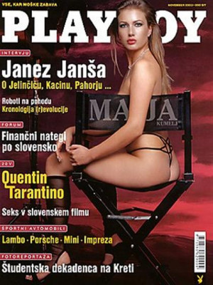 Playboy Slovenia - Nov 2003
