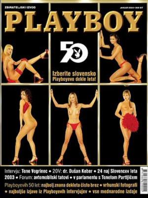 Playboy Slovenia - Jan 2004