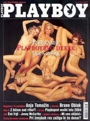 Playboy Slovenia - Jan 2005