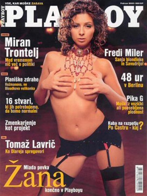Playboy Slovenia - Feb 2005