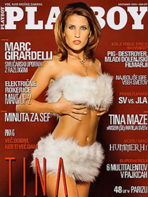 Playboy Slovenia - Dec 2005