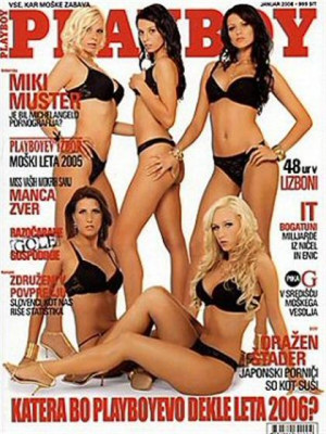 Playboy Slovenia - Jan 2006