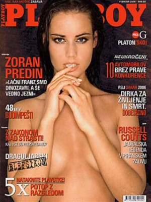 Playboy Slovenia - Feb 2006