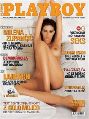 Playboy Slovenia - Nov 2006
