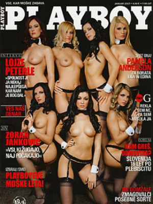 Playboy Slovenia - Jan 2007