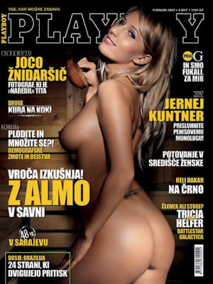 Playboy Slovenia - Feb 2007