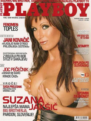 Playboy Slovenia - Aug 2007