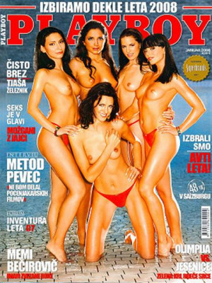 Playboy Slovenia - Jan 2008