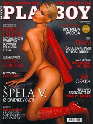 Playboy Slovenia - Feb 2008