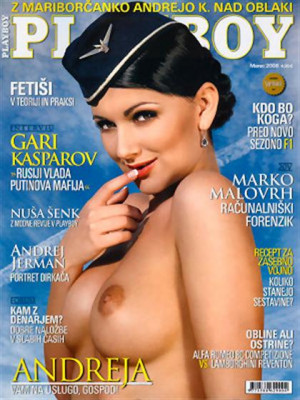 Playboy Slovenia - Mar 2008