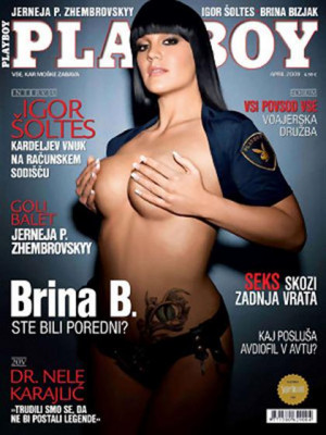 Playboy Slovenia - Apr 2009