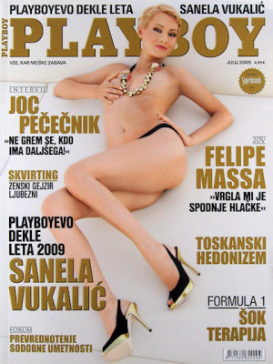 Playboy Slovenia - July 2009